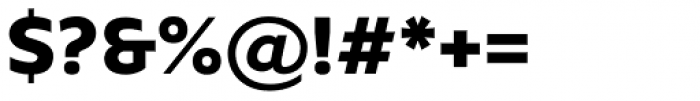 Kyrial Sans Pro Black Font OTHER CHARS