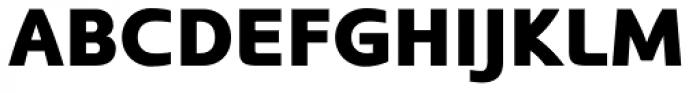 Kyrial Sans Pro Black Font UPPERCASE