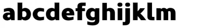 Kyrial Sans Pro Black Font LOWERCASE