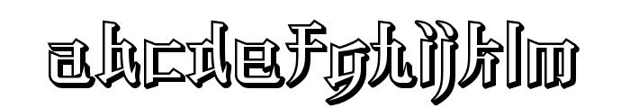 KZ BLADERUNNER 2 Font LOWERCASE