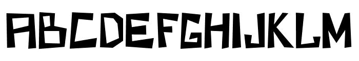 KZKirpich-Regular Font UPPERCASE