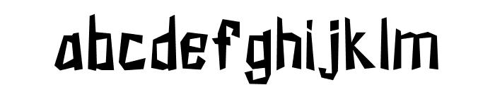 KZKirpich-Regular Font LOWERCASE