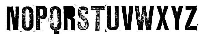 L Regular Font UPPERCASE