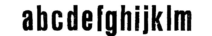 L Regular Font LOWERCASE