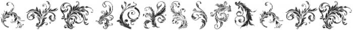 LAROSH Sithal Extra otf (400) Font UPPERCASE