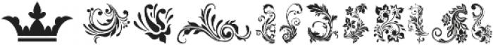 LAROSH Sithal Extra otf (400) Font LOWERCASE
