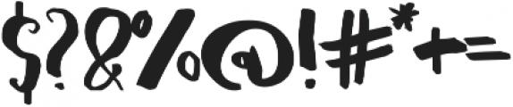 La Bambiny otf (400) Font OTHER CHARS