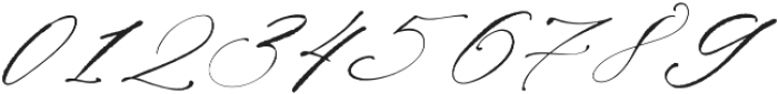 La Bohemia Regular ttf (400) Font OTHER CHARS