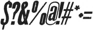 La Costa Italic Italic otf (400) Font OTHER CHARS