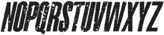 La Costa Italic Italic otf (400) Font UPPERCASE