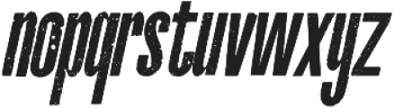 La Costa Italic Italic otf (400) Font LOWERCASE