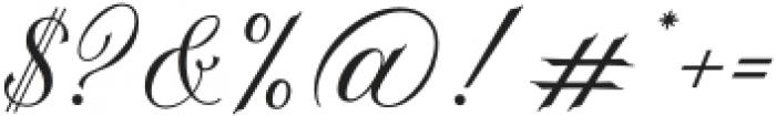 La Graziela Regular otf (400) Font OTHER CHARS