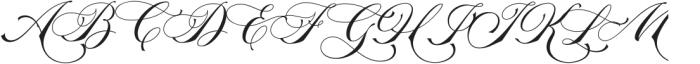 La Graziela Regular otf (400) Font UPPERCASE
