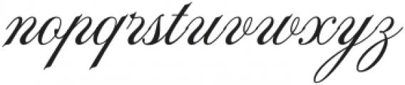 La Graziela Regular otf (400) Font LOWERCASE