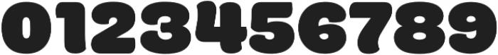 La Kony Black otf (900) Font OTHER CHARS