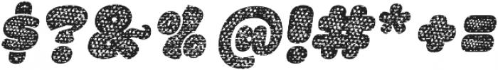 La Mona Pro Cloth Mix Italic otf (400) Font OTHER CHARS