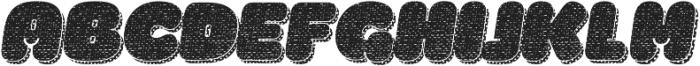 La Mona Pro Cloth More Shadow Texture Italic otf (400) Font UPPERCASE