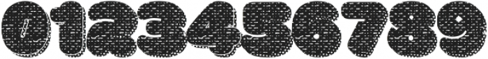 La Mona Pro Cloth More Shadow Texture otf (400) Font OTHER CHARS