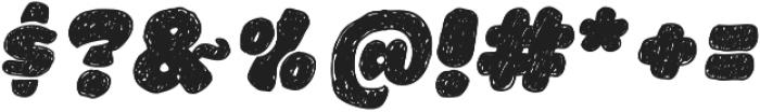 La Mona Pro Hand Italic otf (400) Font OTHER CHARS