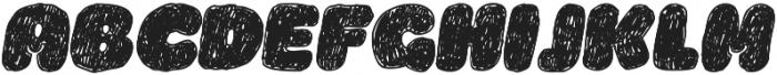 La Mona Pro Hand Italic otf (400) Font UPPERCASE
