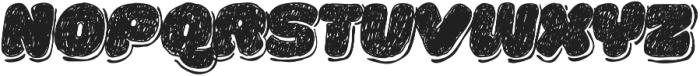 La Mona Pro Hand More Shadow Italic otf (400) Font UPPERCASE