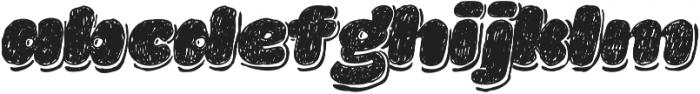La Mona Pro Hand More Shadow Italic otf (400) Font LOWERCASE