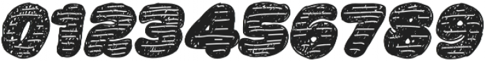 La Mona Pro Hand More Texture Italic otf (400) Font OTHER CHARS