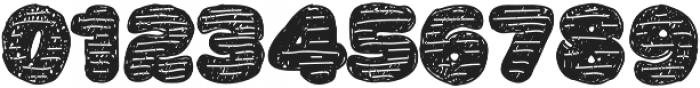 La Mona Pro Hand More Texture otf (400) Font OTHER CHARS