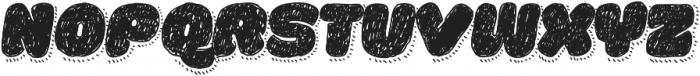 La Mona Pro Hand With Shadow Line Italic otf (400) Font UPPERCASE