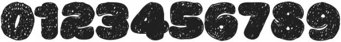 La Mona Pro Hand otf (400) Font OTHER CHARS