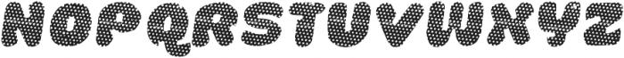 La Mona Pro Layer One Italic otf (400) Font UPPERCASE