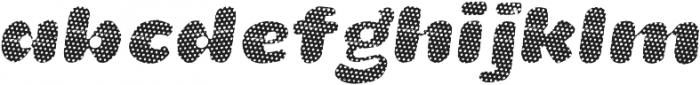 La Mona Pro Layer One Italic otf (400) Font LOWERCASE