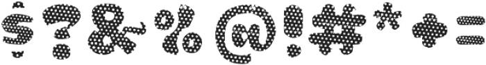 La Mona Pro Layer One otf (400) Font OTHER CHARS