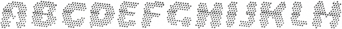 La Mona Pro Layer Two Italic otf (400) Font UPPERCASE
