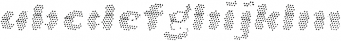 La Mona Pro Layer Two Italic otf (400) Font LOWERCASE