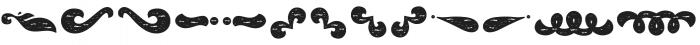 La Mona Pro Ornament Rough otf (400) Font LOWERCASE