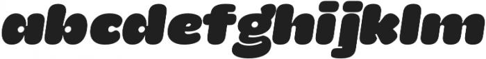 La Mona Pro Regular Italic otf (400) Font LOWERCASE