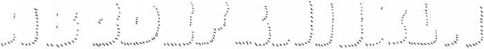 La Mona Pro Shadow Hand Line otf (400) Font UPPERCASE