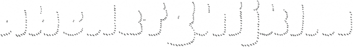 La Mona Pro Shadow Hand Line otf (400) Font LOWERCASE