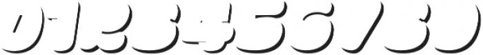 La Mona Pro Shadow Italic otf (400) Font OTHER CHARS