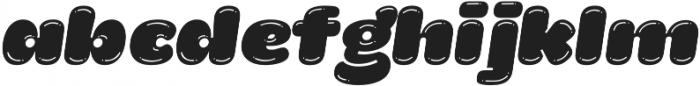 La Mona Pro Shine Italic otf (400) Font LOWERCASE