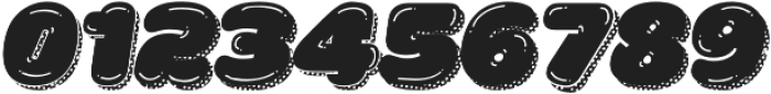 La Mona Pro Shine More Shadow Texture Italic otf (400) Font OTHER CHARS