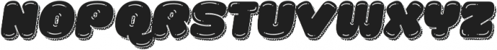 La Mona Pro Shine More Shadow Texture Italic otf (400) Font UPPERCASE