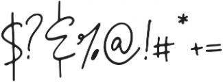 La Ronda Regular otf (400) Font OTHER CHARS