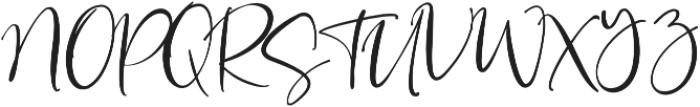 La Rosa Script otf (400) Font UPPERCASE