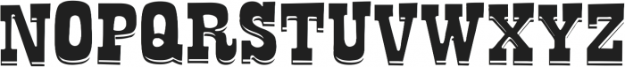 La Tequila Out ttf (400) Font UPPERCASE