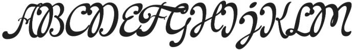 La Venice Pro otf (400) Font UPPERCASE