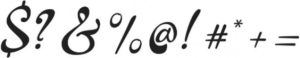 La Venice Standard otf (400) Font OTHER CHARS
