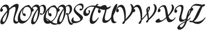 La Venice Standard otf (400) Font UPPERCASE