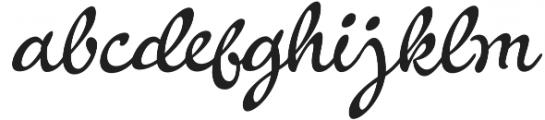 La Venice Standard otf (400) Font LOWERCASE